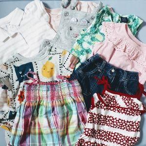 Baby girl 12-18 summer bundle